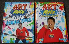 Art Attack Annual Bundle 2006 2008 Hardback Creative Ideas FUN THINGS TO MAKE DO