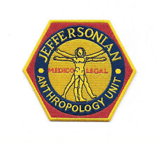 Bones TV Series Jeffersonian Institute Logo Embroidered Patch NEW UNUSED