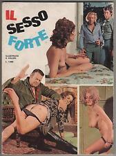 sexyerotica N.9 IL SESSO FORTE contiene NEW CINEMA 6 e 7 - 1972 sexy erotica
