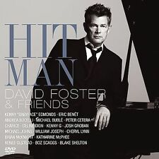 Hit Man David Foster & Friends New CD + DVD Eric Benet Michael Buble NEW SEALED