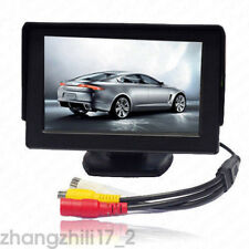 "Car 4.3"" TFT LCD Monitor & Wireless Rear View Reversing Back Parking Camera Kit"