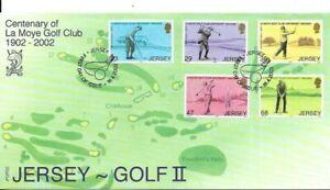 Jersey 2002 La Moye Golf Club FDC