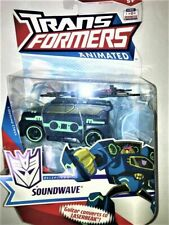 """Transformers Animated Deluxe Class 6"""" Soundwave Figure MOC NEW SEALED shockwave"""