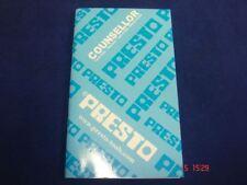 Los ingenieros de precisión presto medición de datos libro gráficos tablas de referencia Grifo Taladro