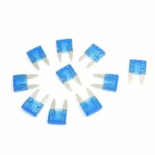 10 x ATC mini blade fuse for automotive fuse flat 15 A blue Q5Q6