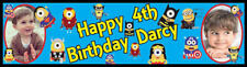 Minions Birthday Party Themed Personalised Banner With Photos