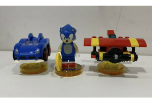 LEGO DIMENSIONS 71244 SONIC THE HEDGEHOG LEVEL PACK IN MINT CONDITION RARE