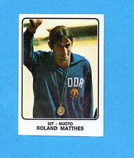 CAMPIONI dello SPORT 1973/74-Figurina n.227- MATTHES - NUOTO -Rec