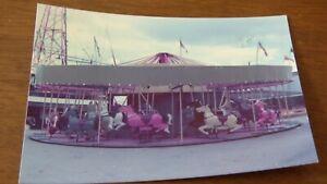 vintage Maxwell Galloper photo fairground 1976 Morecambe