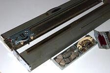NELSON KNITTER JAPANESE VINTAGE KNITTING MACHINE w/ CASE & ACCESSORIES