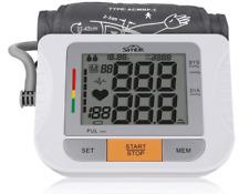 Tensiómetro de Brazo Digital Monitor de Presión Arterial con Memoria SIMBR