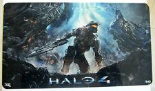Halo 4 targa metallica Limited Edition Spedito Dall'Italia in Pronta Consegna