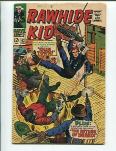 Rawhide Kid #62 - Silver Age Denny O'Neil Story & Vince Colletta Art Date Stamp!