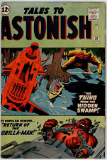 Tales To Astonish #30 FN- 5.5  The Thing, Quogg, Gorilla Man - Lee, Kirby, Ditko