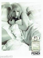 PUBLICITE ADVERTISING 016  2008  Fendi Palazzo  eau de toilette femme