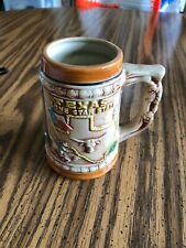 """Vintage Texas Lone Star State Mug Made In Japan 4.5"""" Tall"""
