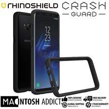 RhinoShield CrashGuard 3.3M Drop Protection Bumper Case For Galaxy S8 BLACK