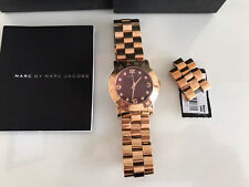 Marc Jacobs Ladies Rose Gold Watch, Excellent Conditionand Hardly Worn