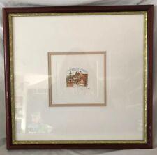 STEPHEN WHITTLE -Framed Signed Original Etching - THE PLEASURE BOAT - 1997COA
