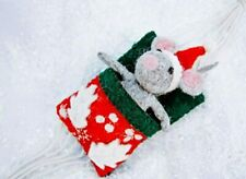 The Mouse in the Hammock Christmas Ornament by Bethany Brevard - Original Holida