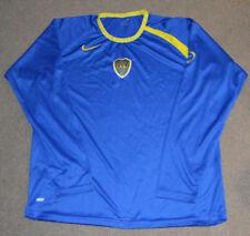 Boca Juniors CABJ Nike Dri Fit Long Sleeve Soccer Football Jersey L Argentina