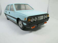 Vintage Fiat Polonez Polish plastic friction Tin  car czz 4046 FSO Poland Blue