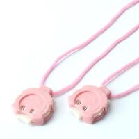 2x Knitpro Reihenzähler Strickzähler Mini Maschenreihenzähler mit Umhän WMK