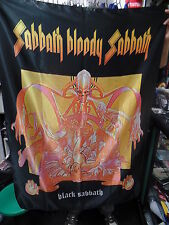 BLACK SABBATH Sabbath Bloody Sabbath FLAG CLOTH POSTER WALL TAPESTRY BANNER CD