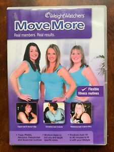 Weight Watchers Move More DVD 2010 Exercise Fitness Routine