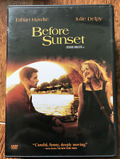 Before Sunset Dvd 2004 Paris-Set Romantic Drama Sunrise Sequel w/ Ethan Hawke