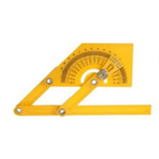 Angle Engineer Protractor Finder 180 Degree Measure Arm Ruler Gauge Tool Plastic