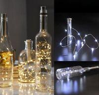 Korken geformte LED Nachtlicht Starry Light Wein Flaschen Lampe Weihnachtsdekor