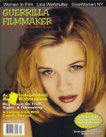 REESE WITHERSPOON Guerrilla Filmmaker Magazine 01 MEG THAYER CAMILLA TONIOLO PC