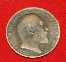 UK One Penny 1902 Edward VII KM# 794.2 Sp# 3990