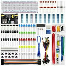 Rexqualis Electronics Component Fun Kit Withpower Supply Module Jumper Wire 830 Ti