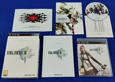 ps3 FINAL FANTASY XIII 13 Limited Collectors Edition Playstation REGION FREE PAL