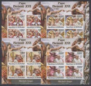 Z458. Burundi - MNH - Famous People - Pope - Imperf