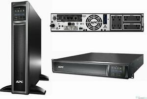 APC SMX1500RM2UNC Smart-UPS 1500VA 1.2kW Rack/Tower Power Backup AP9631 Network