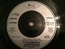 """Kylie Minogue & Jason Donovan - Especially For You 7"""" Vinyl Single Record"""