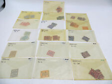 Lot of 52 Germany Local Official Stamps OL1 - OL15 - CV $64 - SEE LIST