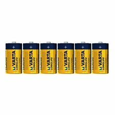 12 x VARTA LONGLIFE Batterie C LR14 Baby C 4114 Akali 1,5V MN1500 2 x 6 Stück
