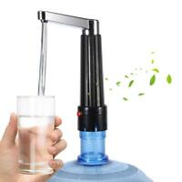 Universal Electric Water Bottle Jug Electric Pump Dispenser Camping Drinking US