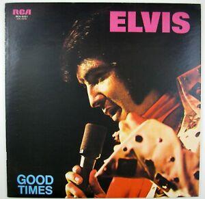 ELVIS PRESLEY Good Times LP 1974 ROCK/BALLAD NM- NM- (JAPANESE PRESSING)