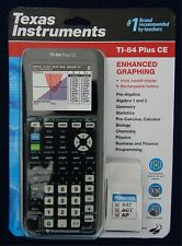 Texas Instruments TI-84 Plus CE Color Graphing Calculator- Black, New Sealed Pkg