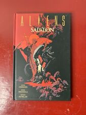Aliens Salvation HC By Mike Mignola Dave Gibbons RARE! HTF! OOP!