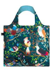 New LOQI Grocery Shopping Fold Reusable TOTE BAG Washable BIRDS Eco-friendly