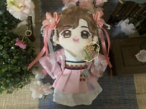 Original Handmade For Han Fu 20cm Doll Clothes Clothing Outfits Cute Gift 01