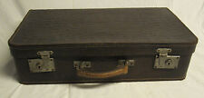 alter (antiker) Koffer Reisekoffer Lederkoffer Oldtimerkoffer