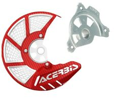 Acerbis Red/White Disc Cover Mount For Honda CR 250 04-07 CRF 250 450 R 04-17