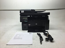 HP LaserJet M1212nf MFP All-In-One Laser Printer w/ Toner 66k Page Count NO Tray